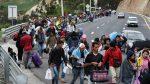 A raíz de la solicitud de visa, venezolanos intentan ingresar ilegalmente al país
