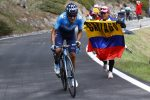 Richard Carapaz declarado baja por lesión para la Vuelta a España