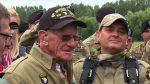 VIDEO   Así fue cómo un exmilitar de 97 años saltó en paracaídas por 75 años del Día D