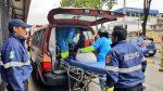 Estado de salud de los pasajeros afectados por el derrame de ácido