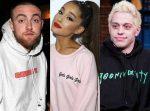 Ariana Grande se cubrió un tatuaje de Pete Davidson con un tributo a Mac Miller