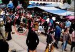 VIDEO: asesinan a un bailarín en medio de un desfile