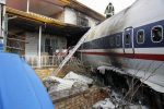 Imágenes impactantes del avión que se estrelló en Irán