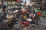 VIDEO: convierten bicicletas en máquinas por el planeta en Guatemala