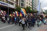 La Paz cumple siete días paralizada con bloqueos de calles y temor a saqueos