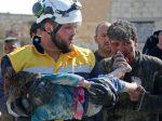 VIDEO   Siria: La rescataron de los escombros junto a su hermana muerta tras un bombardeo