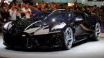 """Bugatti presenta La Voiture Noire, """"el auto más caro de la historia"""""""