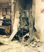 Ladrón murió al hacer explotar un cajero