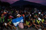 Hondureños se reúnen para nueva caravana hacia Estados Unidos