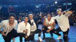 VIDEO | Esto fue lo que hizo CNCO en memoria del cantante Legarda