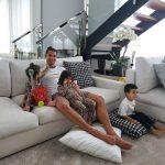 VIDEOS: Cristiano Ronaldo muestra cómo pasa la cuarentena en su casa