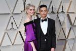 """La declaración de amor de Rami Malek a Lucy Boynton al recibir el Oscar por """"Bohemian Rhapsody"""""""
