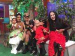 VIDEO: famosas se disfrazaron con sus hijos
