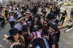 """VIDEO: un """"entierro"""" cierra el carnaval en Barranquilla"""