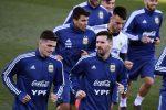 VIDEO: Messi vuelve a los entrenamientos con Argentina