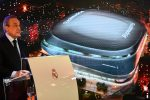 El Real Madrid presenta reforma vanguardista de su estadio