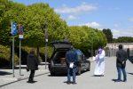 Funerales en carrozas fúnebres, así despiden a las víctimas de coronavirus en España