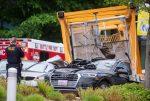 Una grúa de un edificio de Google cae y mata a 4 personas