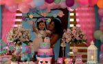 VIDEO |  Lila Flores celebró a lo grande los 3 años de su hija Chavelita