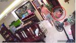 VIDEO | Golpea a su esposa con su hijo recién nacido en brazos porque le movió el televisor