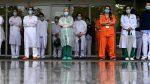 Médicos españoles homenajean a sus casi 50 compañeros fallecidos por Covid-19
