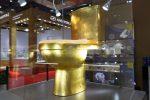 El inodoro más lujoso del mundo: a prueba de balas, hecho de oro y diamantes