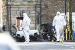 VIDEO: explota coche bomba en Irlanda del Norte