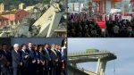 VIDEO | Italia conmemora el primer aniversario del derrumbe del puente de Génova