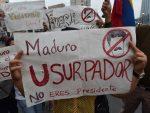 VIDEO: protesta contra Maduro irrumpe en embajada en Lima