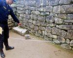 Argentino que dañó Machu Picchu cumplirá tres años y cuatro meses de prisión