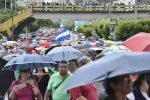 VIDEO | Miles de maestros y médicos en protesta en Honduras