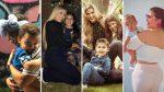 FOTOS | El lado materno de las famosas: así es un fin de semana con sus hijos