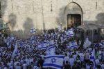 VIDEO | Israelíes marchan por Jerusalén Este para conmemorar su ocupación