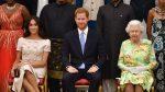 """La reina Isabel II dice no a los planes del príncipe Enrique y Meghan Markle sobre su propia """"marca filantrópica"""""""
