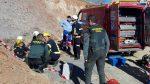Tercer día de la angustiante búsqueda de un niño en un pozo de 110 metros: cavan un túnel para intentar rescatarlo