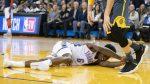 NBA: joven estrella sufre y una dura lesión en un partido