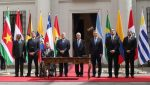 Lenín Moreno firma creación del Prosur sin Venezuela