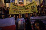 Protesta en Brasil por la muerte de una niña baleada durante patrullaje