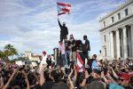 VIDEO   Ricky Martin, Bad Bunny y Residente Calle 13 en las protestas de Puerto Rico