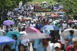 VIDEO: miles protestan en Colombia contra gobierno de Iván Duque