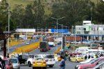 Movilizaciones cierra el paso en el puente Rumichaca