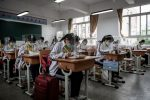 FOTOS: El regreso a clase en Wuhan, ciudad china donde comenzó el coronavirus