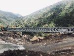 El ministerio de Transporte culmina la construcción del nuevo puente sobre el río Guango