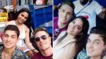 VIDEO | Sara Toscano con su novio y su exnovio ¿juntos como amigos?