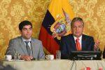 Presidente Lenin Moreno anunció reducción del 50% de su sueldo y de varios servidores del estado