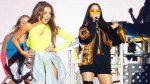 VIDEO: les falló el playback a Thalía y a Natti Natasha en pleno concierto