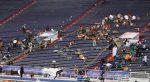 VIDEO | Al menos 10 heridos en tiroteo en un estadio tras partido de fútbol estudiantil