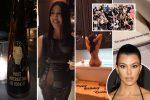 VIDEO: la extravagante torta desnuda con la que Kourtney Kardashian celebró sus 40 años