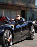 FOTOS|Escándalo en Suecia: acusan a Zlatan Ibrahimovic de manejar una lujosa Ferrari de manera ilegal