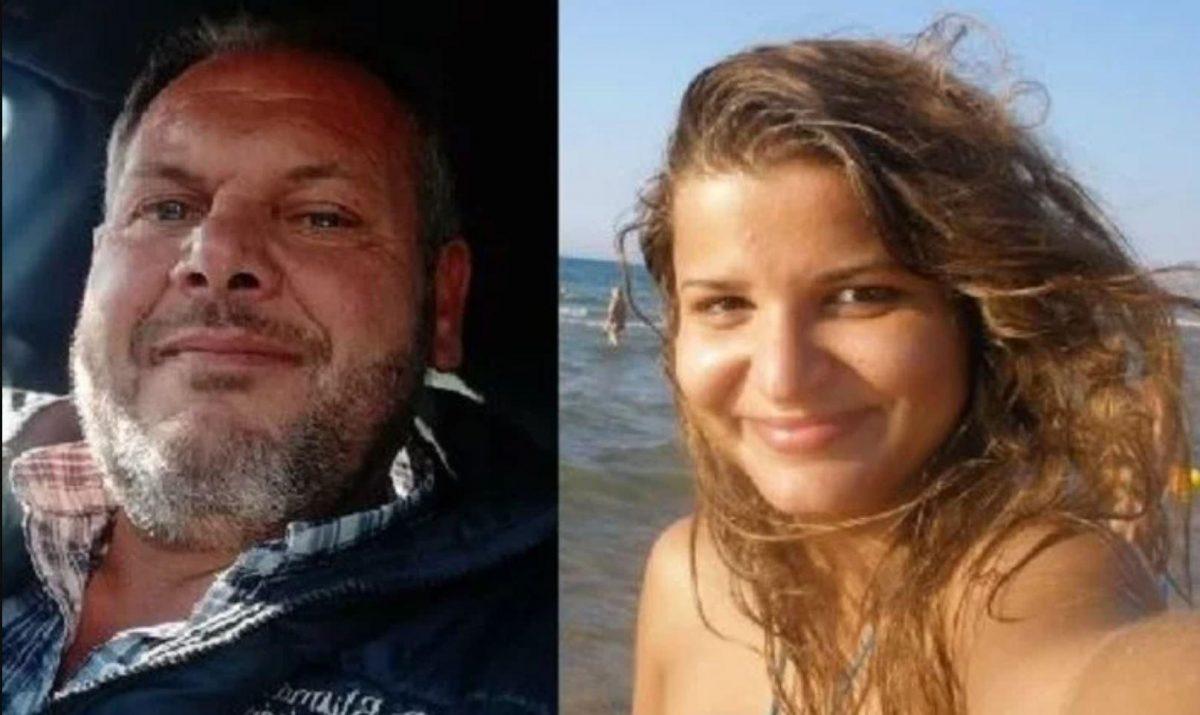 Antonino Borgia, el asesino, y María Lacramioara Di Piazza, la chica asesinada.